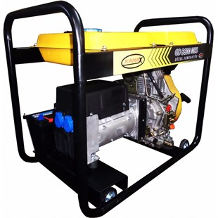 GD 8,6 MES Single Phase Electric Start 7 kVa Diesel Generator