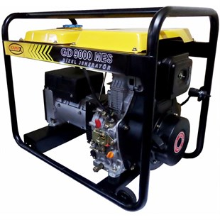 GD 9 MES Single Phase Electric Start 9 kVa Diesel Generator